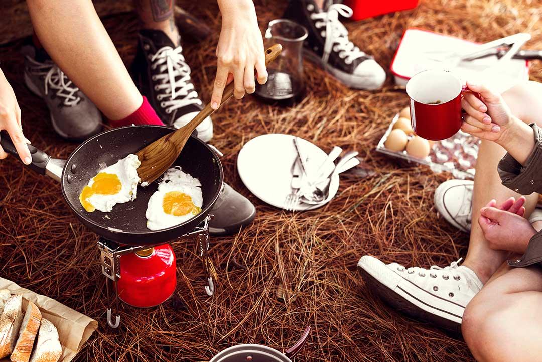 iimprescindibles camping comida