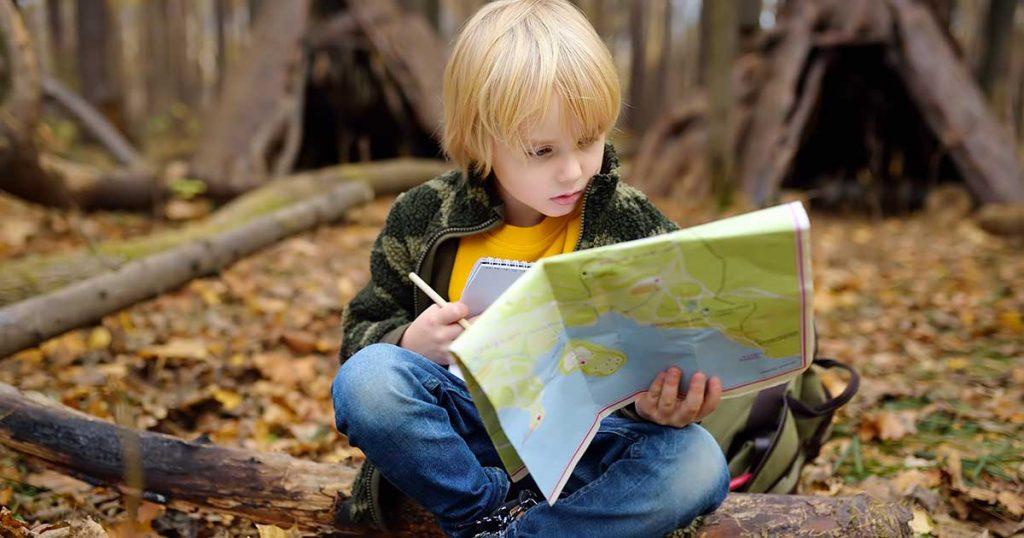 Senderismo con niños ruta