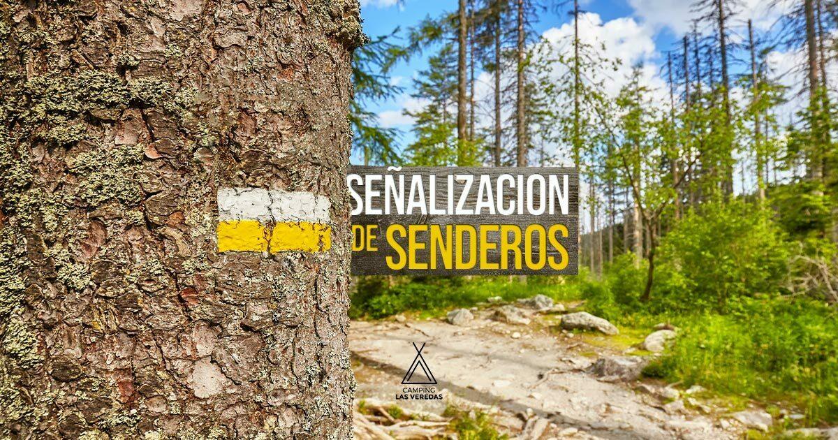 Señalización de senderos y su significado